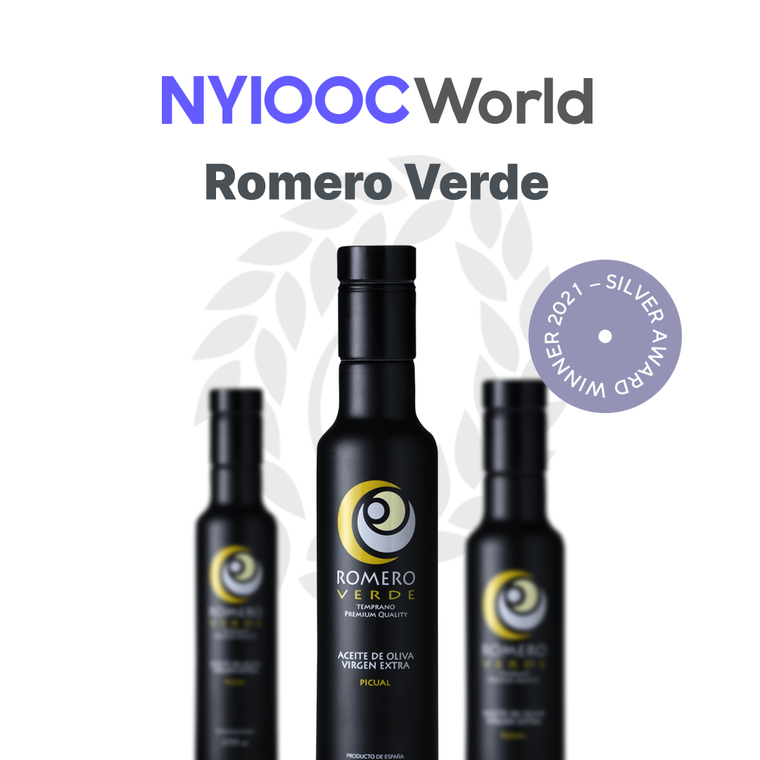 NYIOOC World Olive Oil Competition 2021 medalla de plata